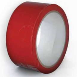 RED BONDAGE TAPE 20M ROLL
