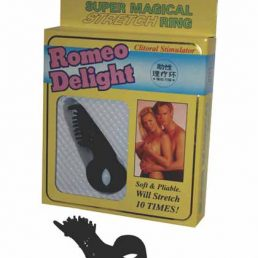 ROMEO DELIGHT CLITORAL STIMULATOR BLACK