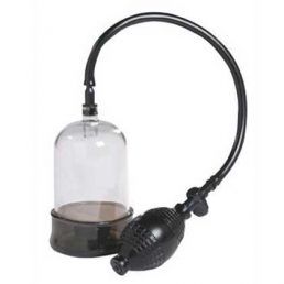 PENIS HEAD PUMP WITH SILICONE BASE RING