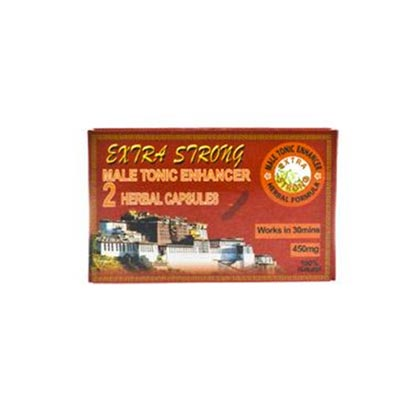 EXTRA STRONG MALE TONIC ENHANCER 450mg 2 CAPSULES