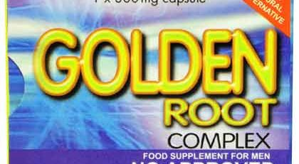 GOLDEN ROOT COMPLEX 12 CAPSULES