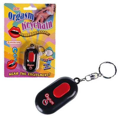 KEYRING BUTTON WITH ORGASM SOUND