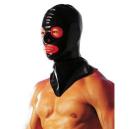 LATEX HANGMANS MASK