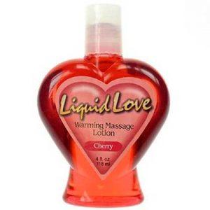 LIQUID LOVE WARMING MASSAGE OIL CHERRY