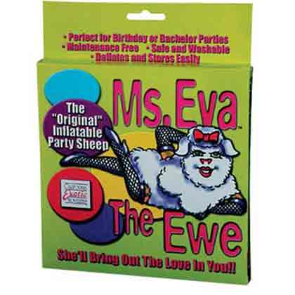 MISS IVA THE ORIGINAL INFLATABLE SHEEP