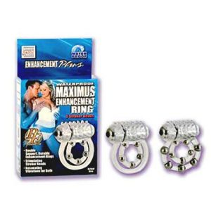 Maximum_Enhancement_Ring_2_Rings_With_Beads_&_Bullet_For_Clit