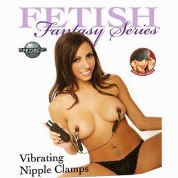 FETISH FANTASY VIBRATING NIPPLE CLAMPS 10 FUNCTIONS