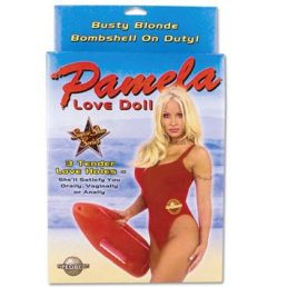 PAMELA FULL SIZE LOVE DOLL WITH 3 PENETRATING HOLES
