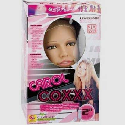 CAROL COXXX LOVE DOLL WITH 2 LOVE HOLES FLESH