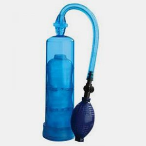 EXTREME ENLARGEMENT PUMP 7.5 INCH CYLINDER BLUE