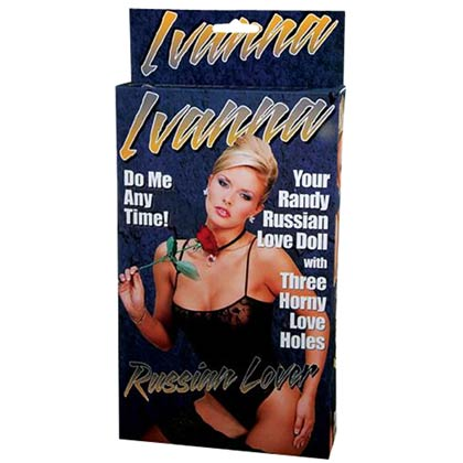 IVANNA RUSSIAN LOVE DOLL WITH 3 LOVE HOLES FLESH