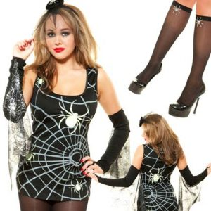 Role-Play-Black-Widow-Spider-Costume