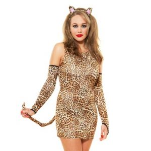 Role Play Lusty Leopard Costume