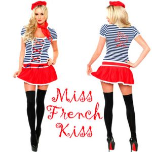 Role-Play-Miss-French-kiss-Costume