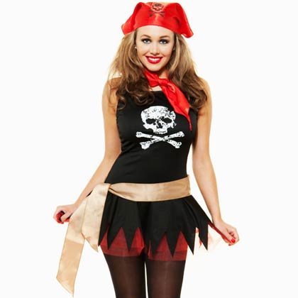 Role Play Sexy Pirate Costume