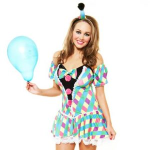 Role-Play-Sexy-Clown-Costume