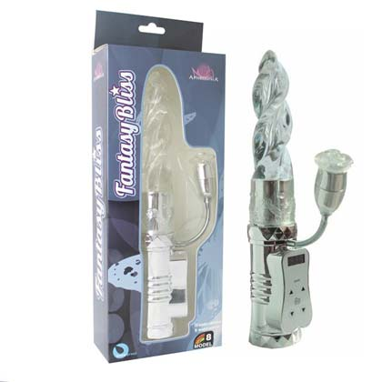 SILVER FANTASY BLISS DRILL VIBRATOR