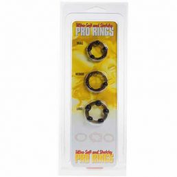 ULTRA SOFT AND STRETCHY PRO RINGS 3 STYLES BLACK