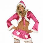 Miss Santa Hot Pink Bolero