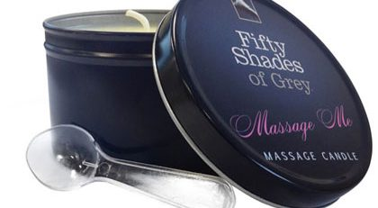 FIFTY SHADES OF GREY MASSAGE CANDLE 192g