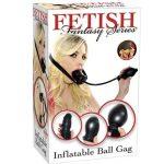 FETISH FANTASY INFLATABLE BALL GAG BLACK