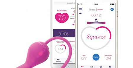 OhMiBod Krush Smart kegel Exerciser