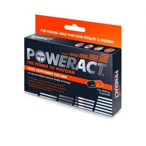 Skins Poweract 15 Pack Male Libido Enhancer Supplement tablets